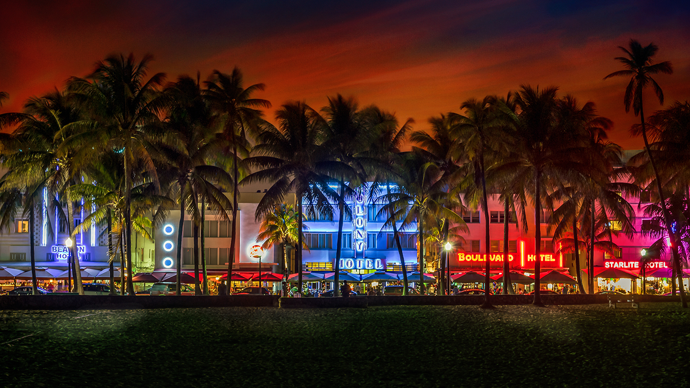 Ocean Drive, South Beach Miami