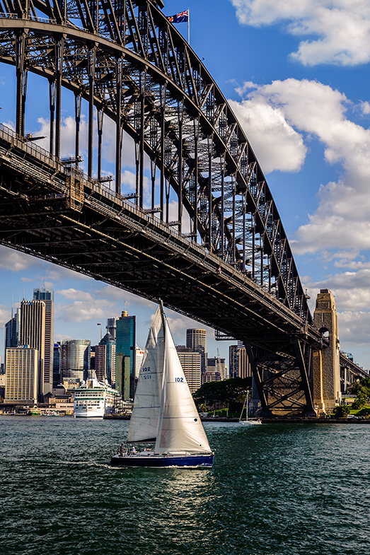Sydeny Harbour Bridge & Skyline